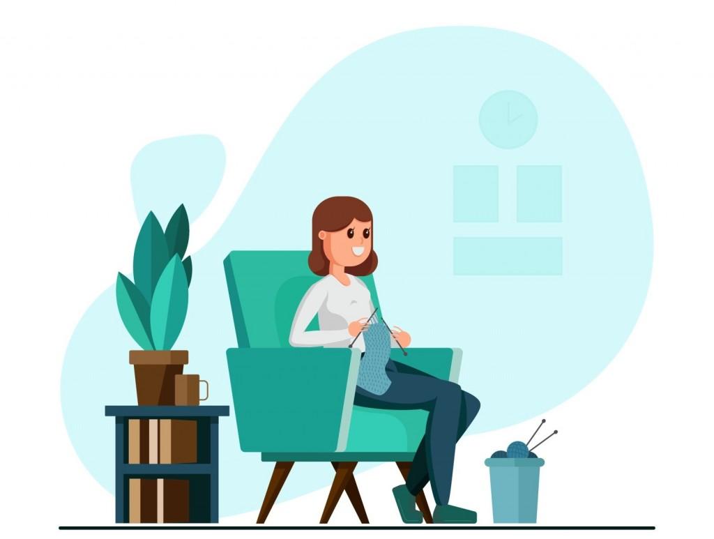 درآمدزایی در منزل برای خانمها